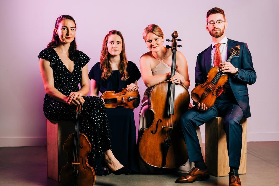 Callisto Quartet. Photo by Titilayo Ayangade