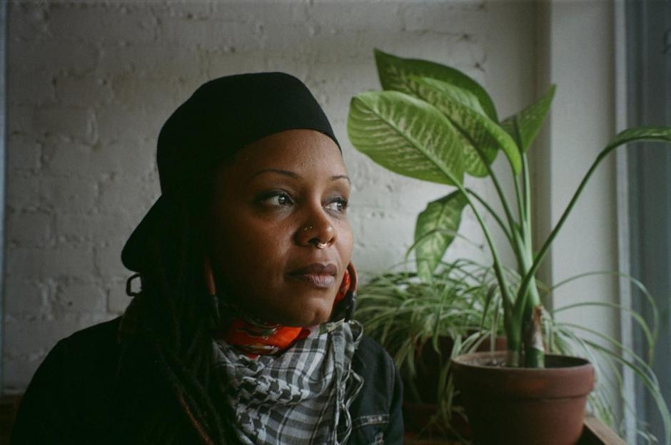 Matana Roberts, photo by Evan Hunter McKnight