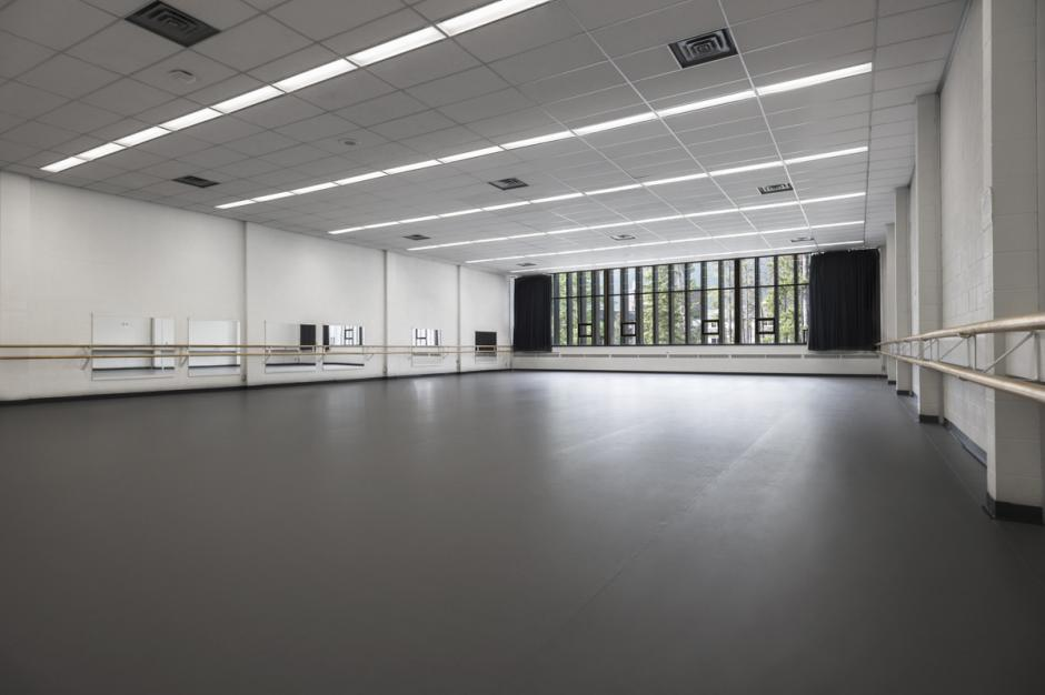 Dance Studio in Lazlo Funtek Teaching Wing