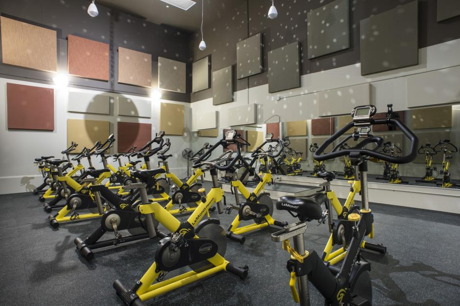 Sally Borden Fitness and Recreation Spin Studio