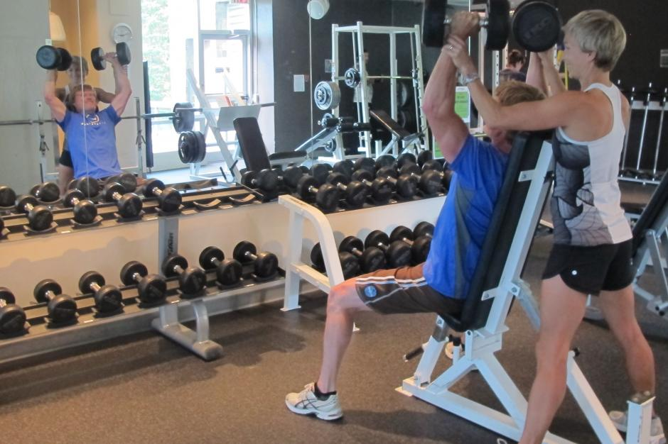 Sally Borden Fitness and Recreation Fitness Room
