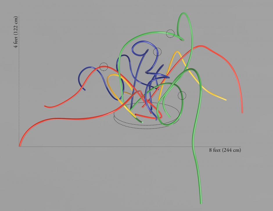 3D model for proposed sculpture by Sarah Davidson.