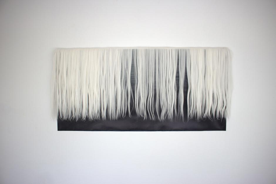 Work from Molly Allen, Open Studio, Banff Centre, 2020.