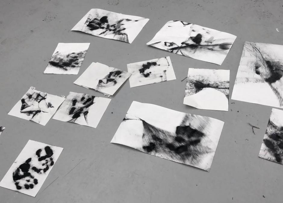 Image of Guillermo Mena's Banff Centre Studio