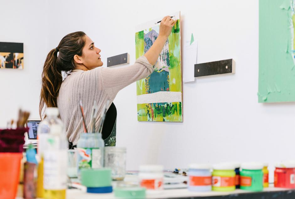 independent residency painter