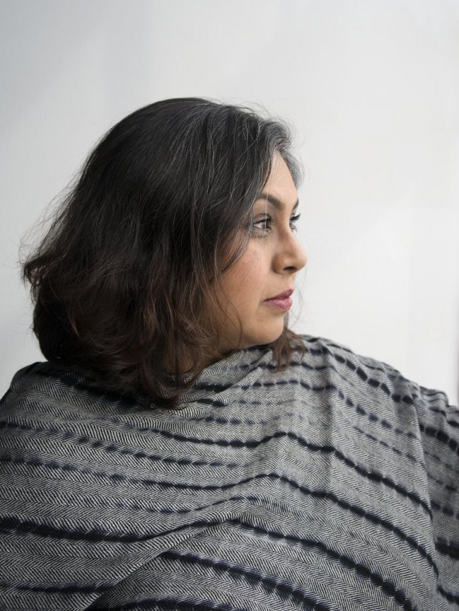 Photo of program faculty, Aruna D'Souza