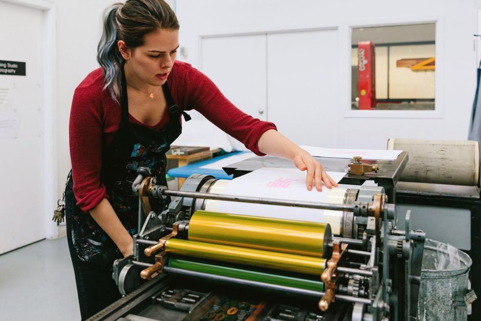 Visual Arts | Printmaking Studio Practicum