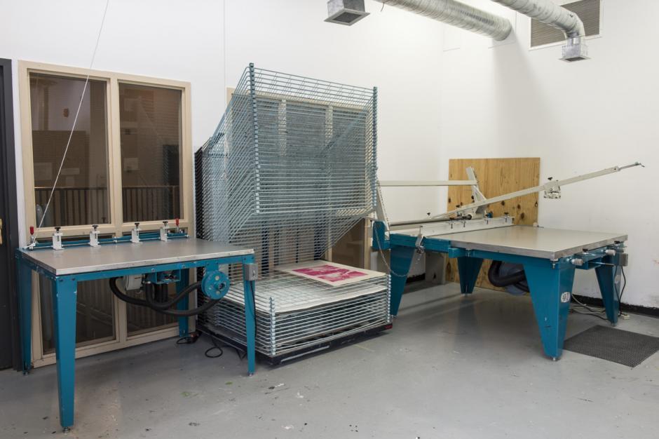 A.W.T. Screenprinting equipment