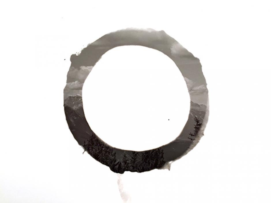 "Kotama Bouabane. ""Mark #2"", 2015. Silver Gelatin Print. 8""x10"". Courtesy the artist"