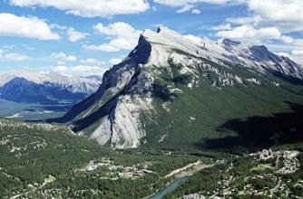 The Banff Centre, Banff, Tunnel Mountain,