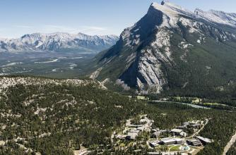 Aerial Photo of The Banff Centre
