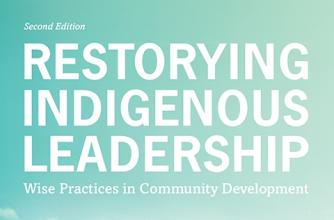 Book Cover, Restoring Indigenous Leadership