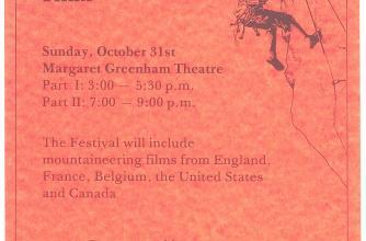 1976 Banff Festival Poster