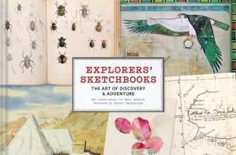 Explorers' Sketchbooks book cover