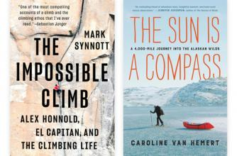Mark Synnott and Caroline Van Hemert book covers
