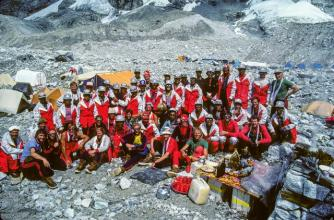 1982 Canadian Everest Team © Pat Morrow