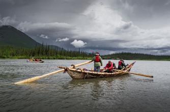 Image from the film Nahanni River of Forgiveness