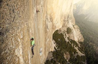 Image from the film The Dawn Wall