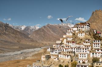 Image from the film Fly Spiti