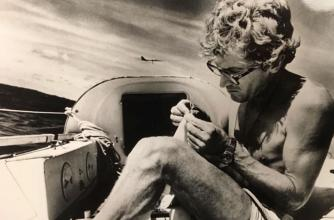 Image from the film Lost at Sea