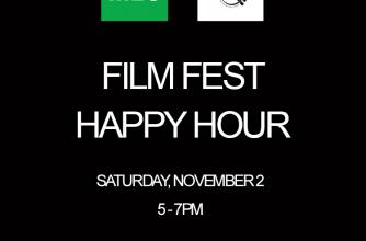 Film Fest Happy Hour images with text.