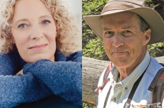 Angie Abdou and Kevin Van Tighem, 2021 Banff Centre Mountain Film and Book Festival