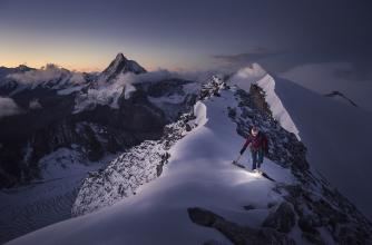 Valentine Fabre, Dent Blanche, Switzerland © Ben Tibbetts