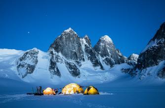 Basecamp, Denali National Park, Photo by Christian Pondella