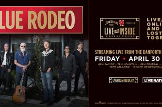 Blue Rodeo Live and Inside