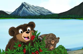 "Parks Canada Presents A Beary, Berry Good Day/Une ""baie"" bonne Journée"