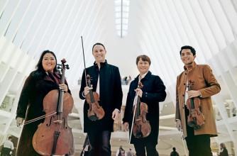 Image courtesy of Calidore String Quartet