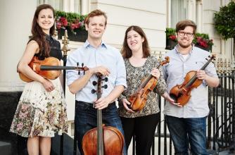 Castalian String Quartet. Photo by Kaupo Kikkas