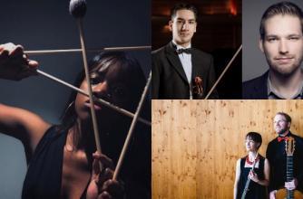 Evolution: Classical, Banff Centre for Arts and Creativity, Beija-Flour, Britton-René Collins, Dastoor Woods Duo