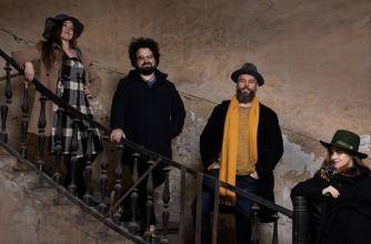 Kelemen Quartet. Photo by Ora Hasenfratz