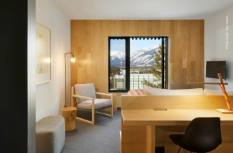 Banff Centre for Arts and Creativity, Hotel Room