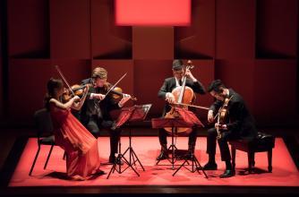 The Rolston String Quartet: Photo credit MISQA Marie Pierre Tremblay