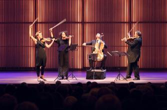 Artemis Quartet. Photo by Dionne Cats.