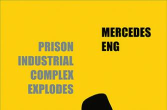 Book cover for the novel Prison Industrial Complex Explodes By author Mercedes Eng