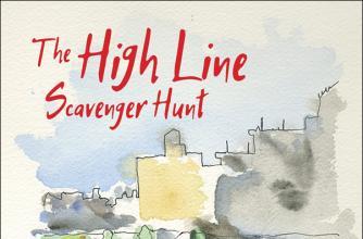 Book cover for Lucas Crawford's novel The High Line Scavenger Hunt