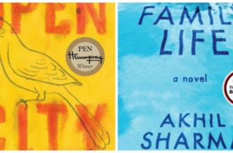 Book Covers: Open City (Penguin Random House); Family Life (WW Norton and Co., Inc.)