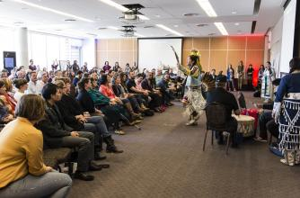 Eya-Hey Nakoda perform at Hope Decoded