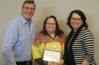Heather Poitras - Recipient of the Indigenous Women in Leadership Scholarship