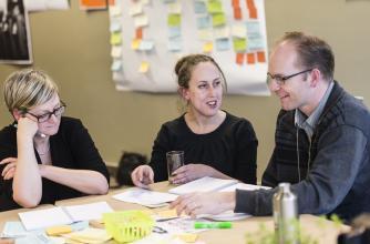 Jennie Winhall describes the user-centered design process