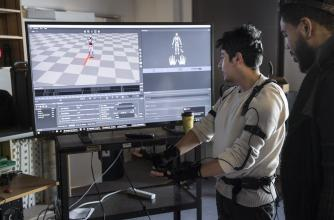 Motion Capture Project, Media Production, Banff Centre for Arts and Creativity