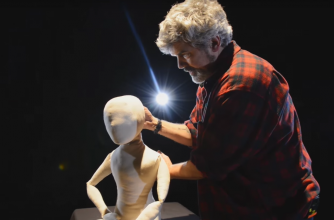 Peter Balkwill of Old Trout Puppet Workshop