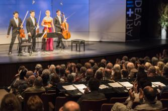 The Schumann Quartet performs at the 2013 Banff International String Quartet Competition.