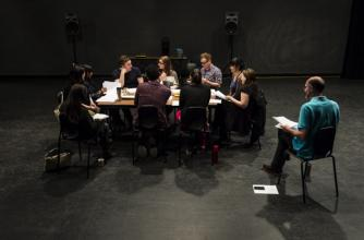 Participants in the 2015 Playwrights Colony