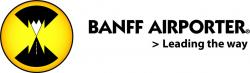 Logo for Banff Airporter shuttle.