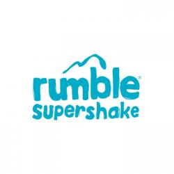 Logo for rumble supershake.