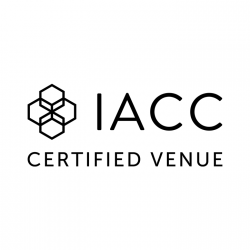 Logo for IACC certified venue.